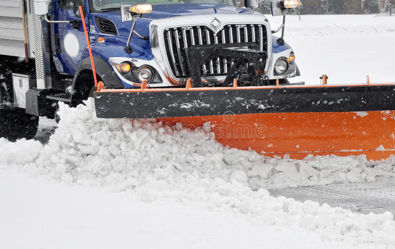 Snow plow stock photos