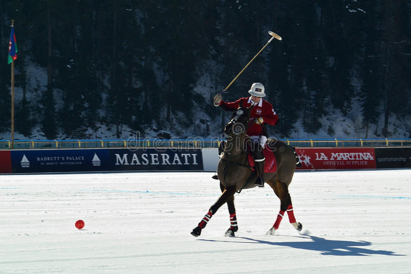 Snow Polo stock images