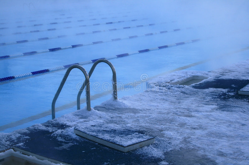 Download Snow pool stock photo. Image of sports, ladder, water - 7528050