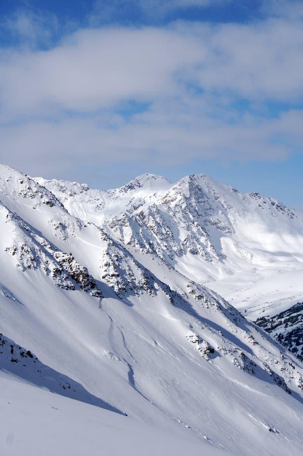 Free Snow Powder Slope Stock Image - 15448011