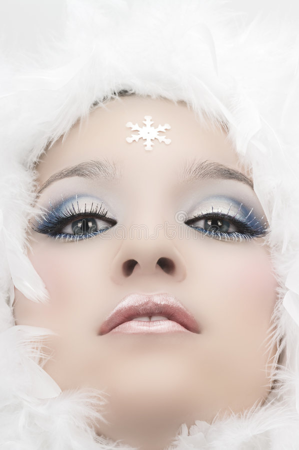 Snow Princess2 Stock Images