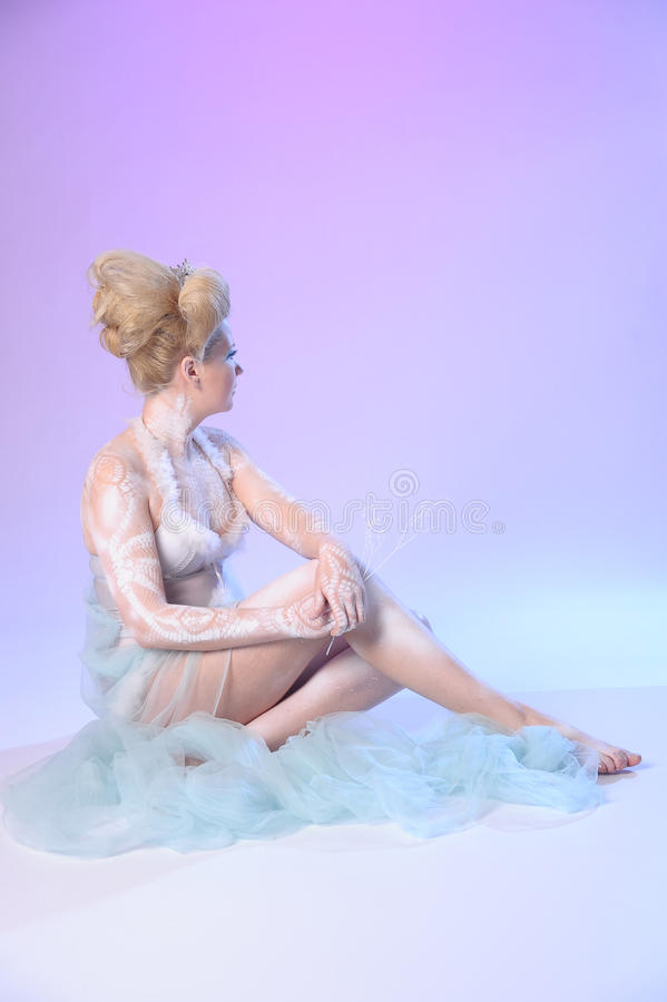 Download The Snow Queen stock photo. Image of face, beauty, beautiful - 18402078