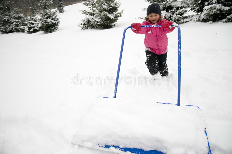 Download Snow removal stock photo. Image of human, shovel, outdoors - 8358606