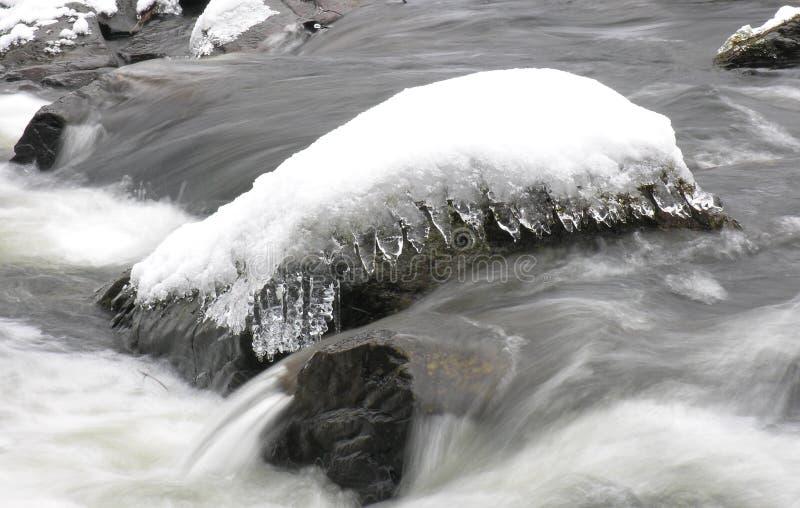 Snow Rock Free Stock Photography