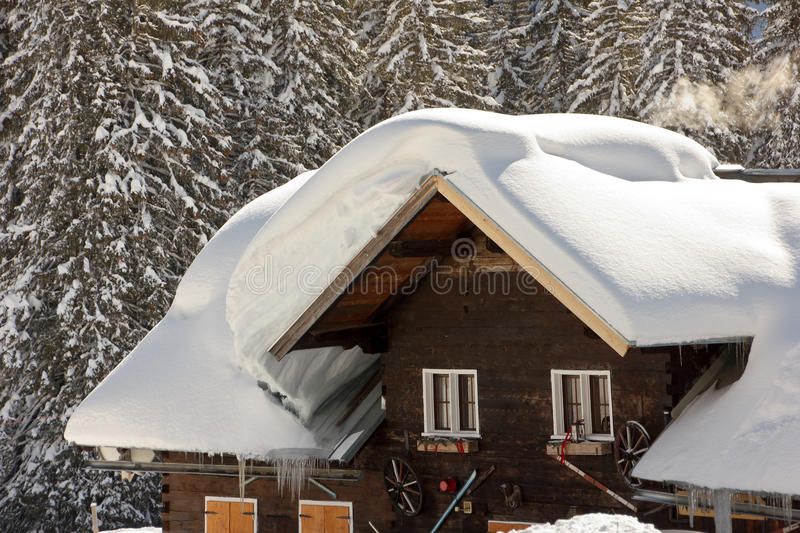 Download Snow on Roofs stock image. Image of snow, building, eurocode - 27810369