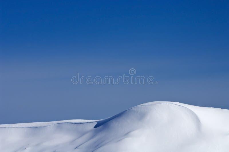 Snow-scape stock image