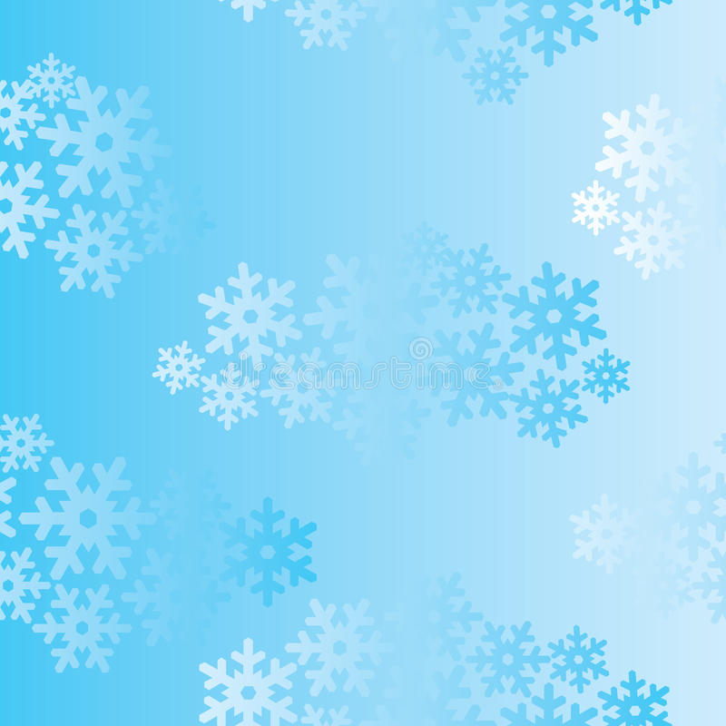 Snow seamless background