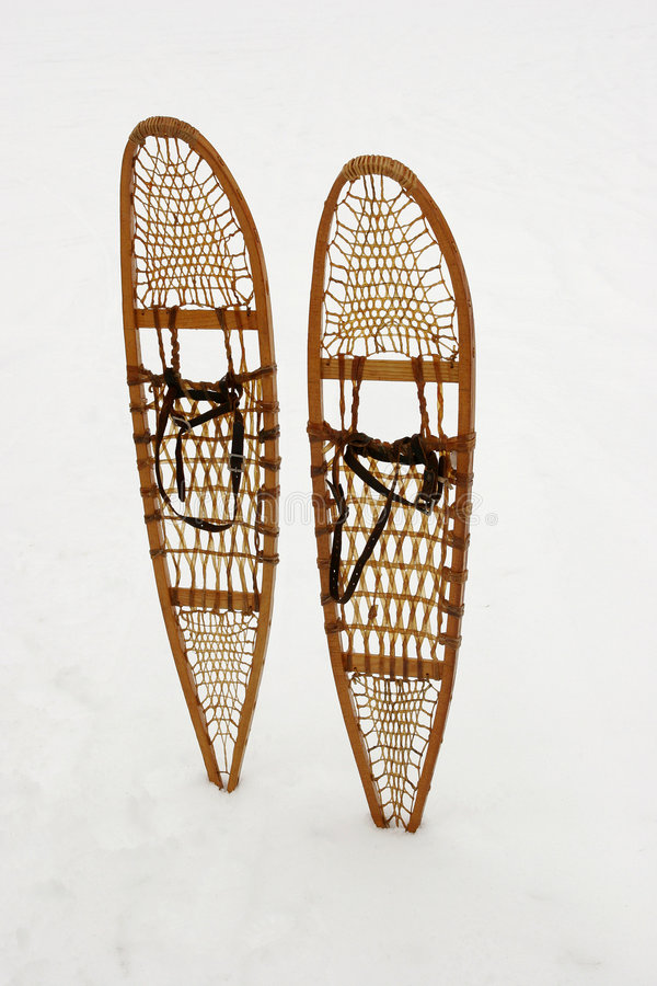 Snow shoes stock images