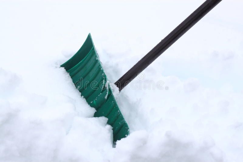 Download Snow Shovel Royalty Free Stock Photography - Image: 37814107