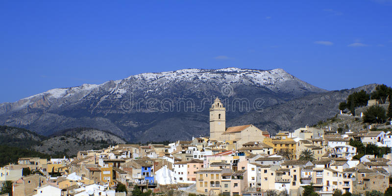 Download Snow in Southern Spain stock photo. Image of spanish - 23168972