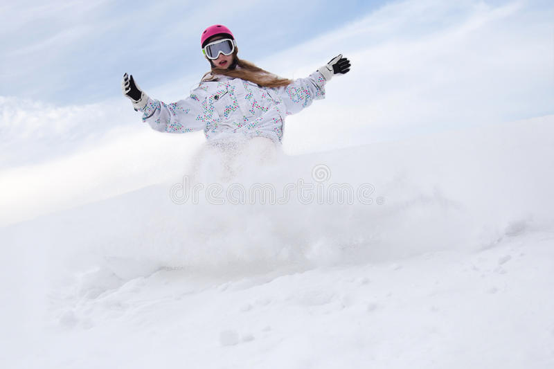Download Snow splashes stock photo. Image of outdoor, active, friendly - 17247404