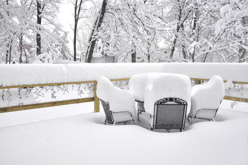 Download Snow Storm stock image. Image of weather, seasons, porch - 14412383