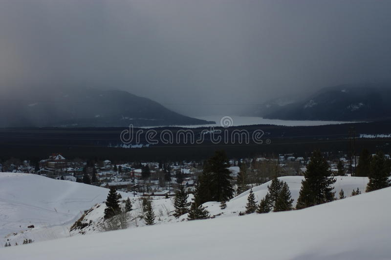 Snow Storm stock images