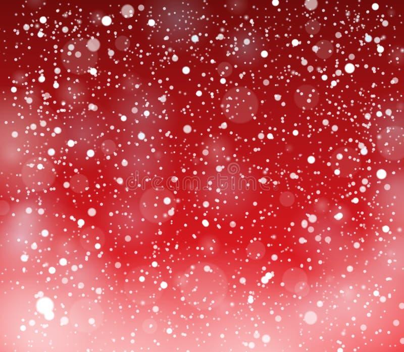 Snow theme background 4. Eps10 vector illustration royalty free illustration