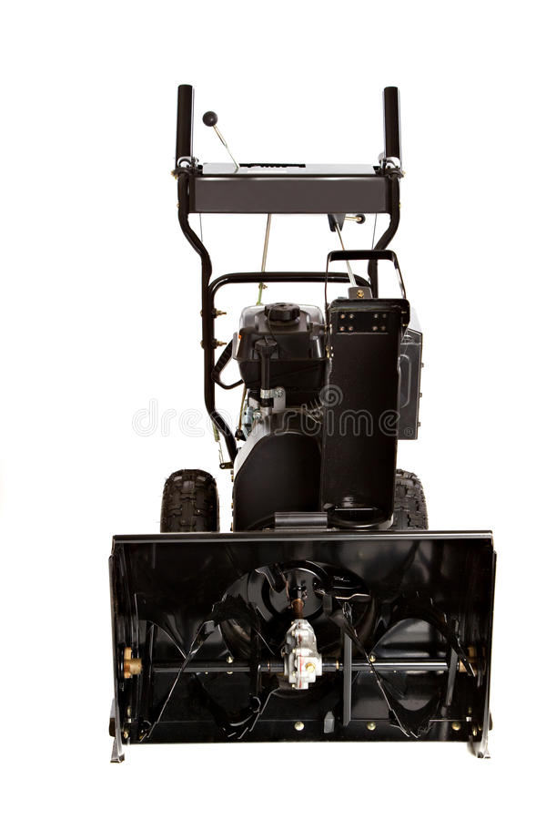 Snow Thrower Isolated on White stock photo