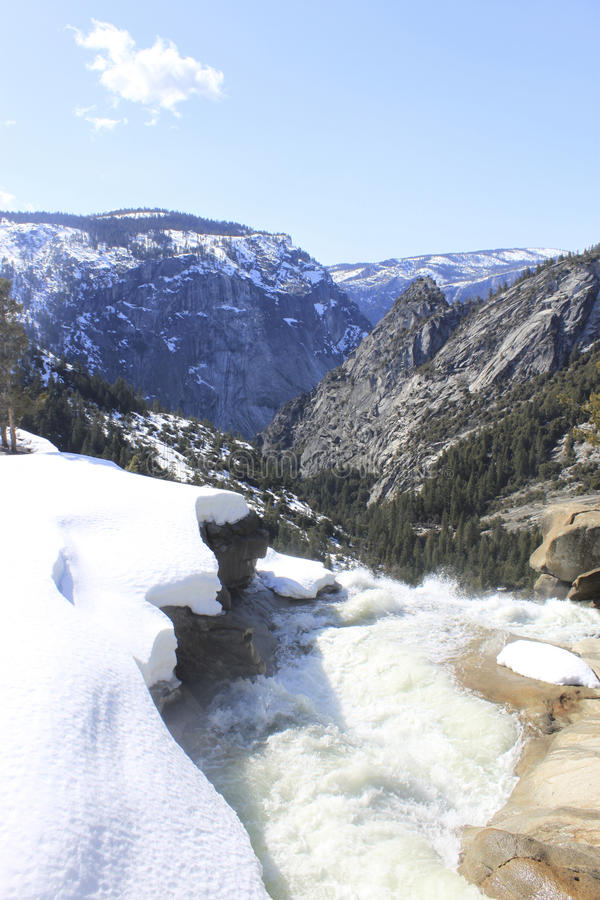 Free Snow, Water And Mountains Royalty Free Stock Photography - 13604807