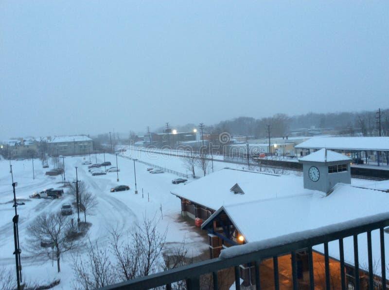 Download Snow stock photo. Image of snow, blizzard, storm, white - 83720498