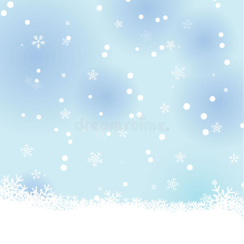 Download Snow winter background stock vector. Illustration of cold - 27976452