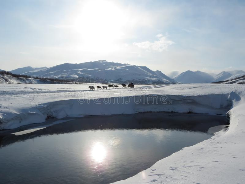 Snow, Winter, Freezing, Glacial Lake stock images