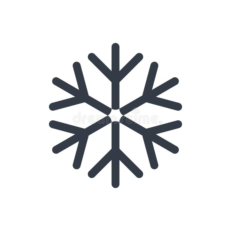 Snow icon. Snow winter icon vector graphic design royalty free illustration