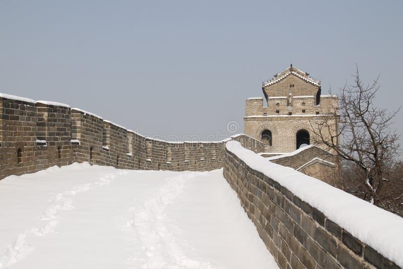 Snow, Winter, Sky, Wall stock photo