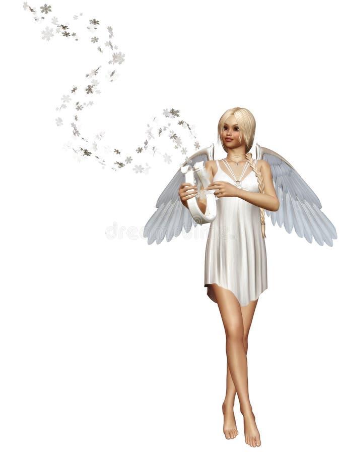 Snowangel ilustração do vetor