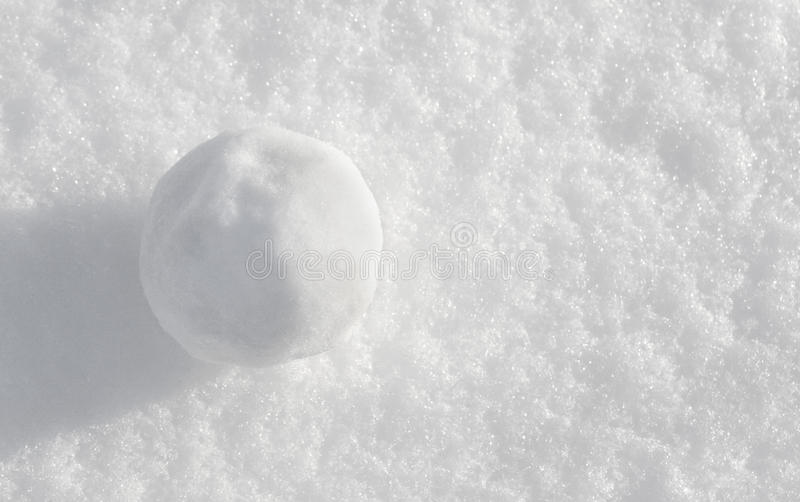 Snowball photos stock