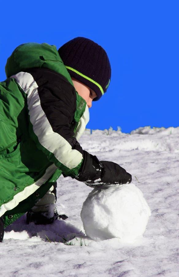 Snowball fotografia de stock royalty free