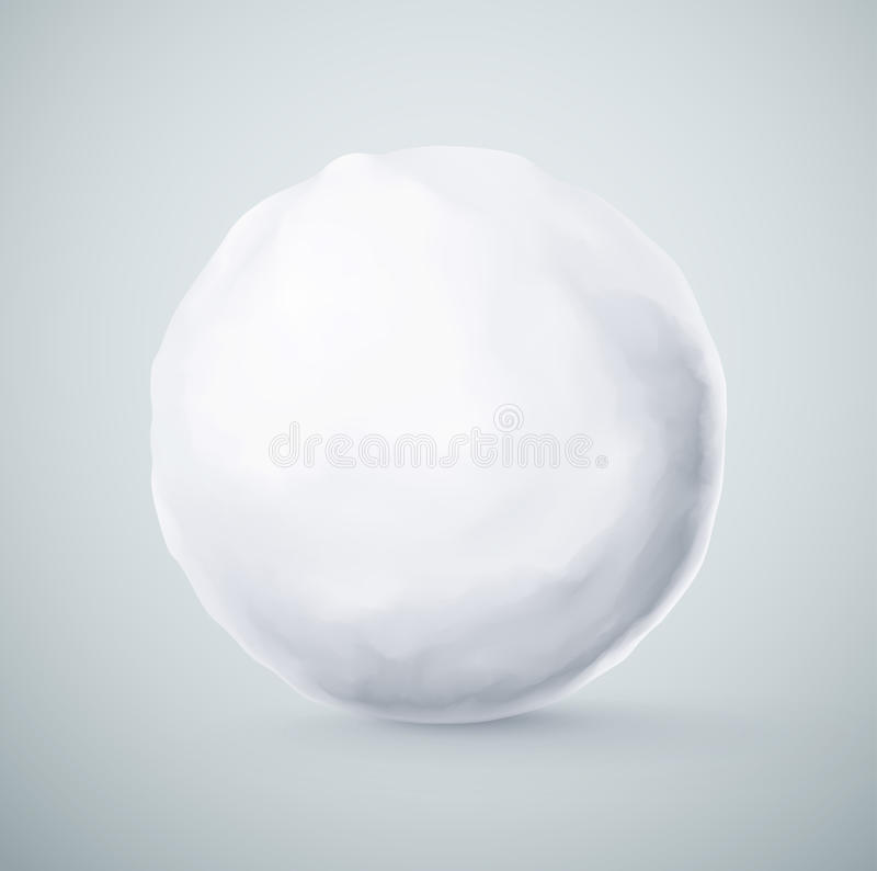 snowball illustration libre de droits