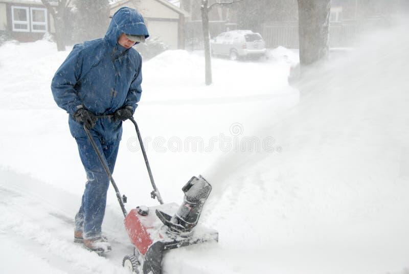 snowblower стоковые фото