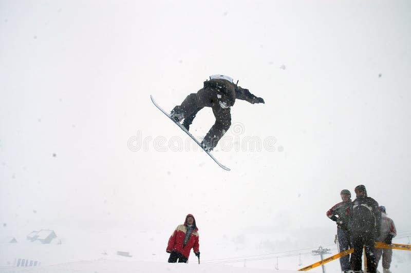 Snowboard 15 foto de archivo libre de regalías