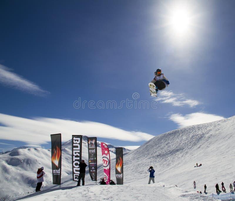 Snowboard royalty-vrije stock fotografie