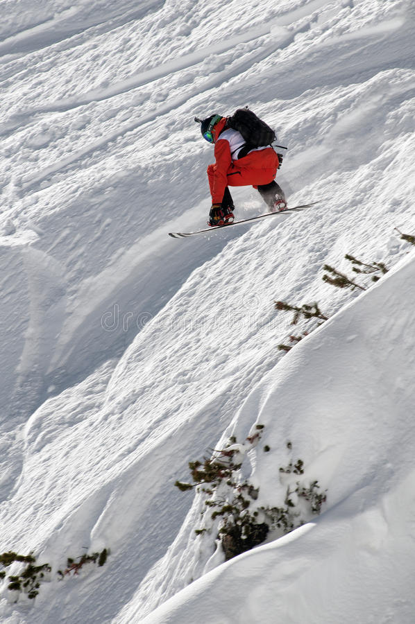 Snowboard imagem de stock