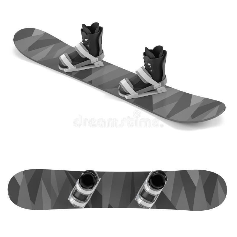 Snowboard  ilustração royalty free