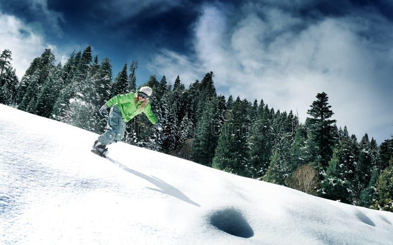 Snowboard fotografía de archivo libre de regalías