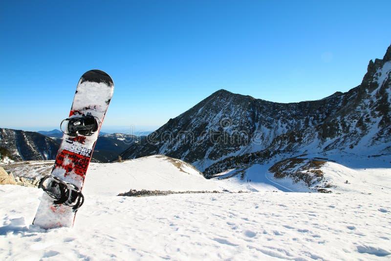 Snowboard imagenes de archivo