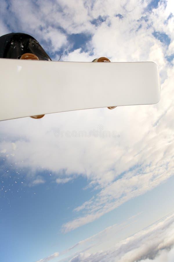 Snowboard imagen de archivo libre de regalías