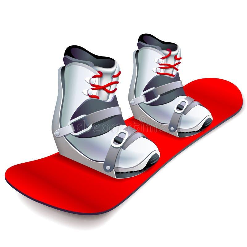 snowboard vector illustratie