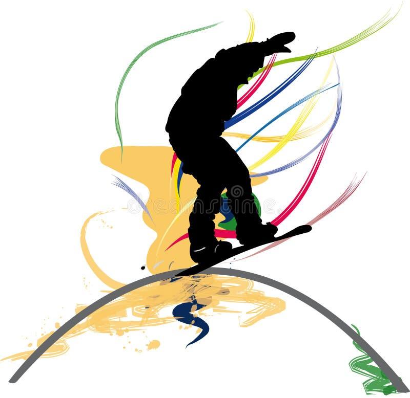 Snowboard vector illustration