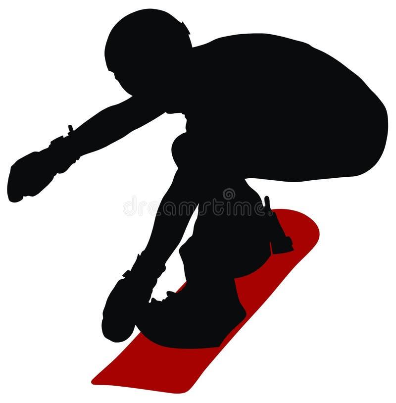 Download Snowboard stock vector. Illustration of snowboard, sport - 7339494