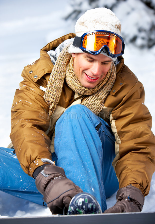 snowboard obraz royalty free