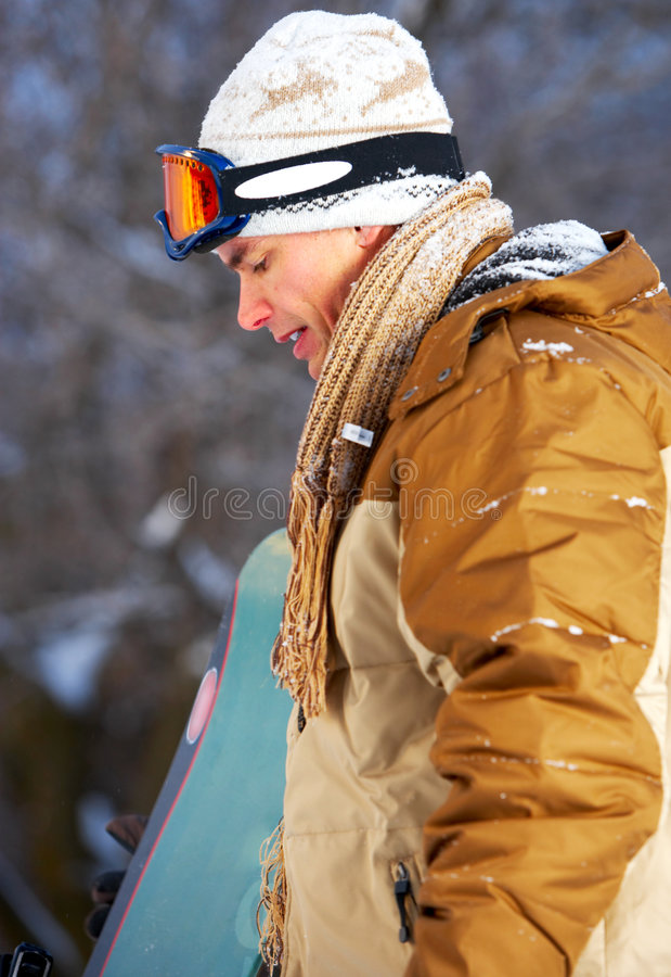 snowboard obrazy royalty free