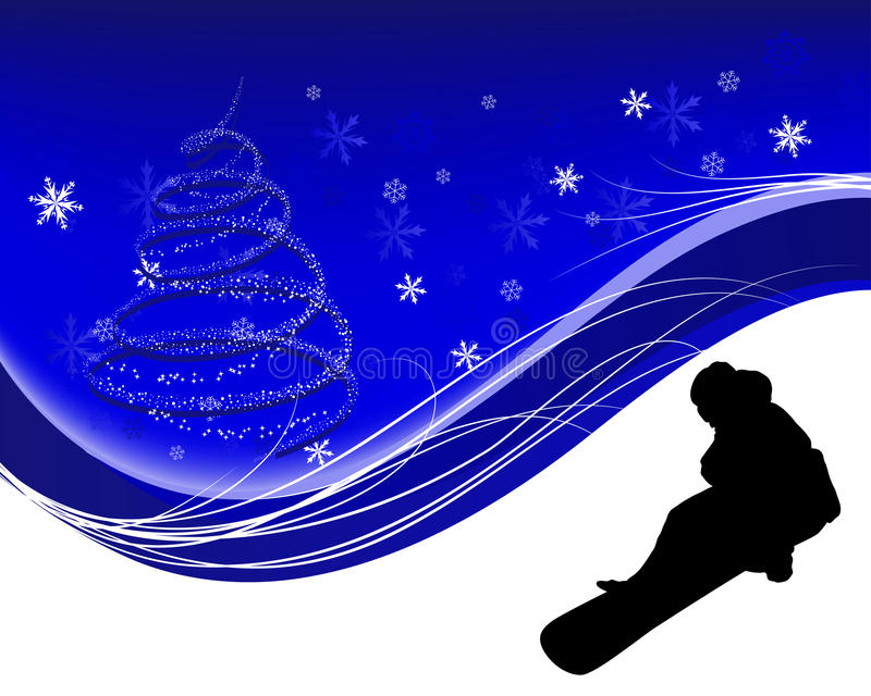 Download Snowboard background stock vector. Image of activity - 26380489