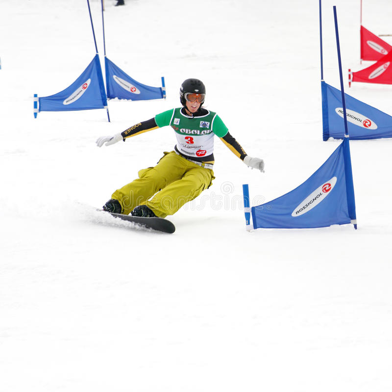 Free Snowboard European Cup Royalty Free Stock Photos - 13157248