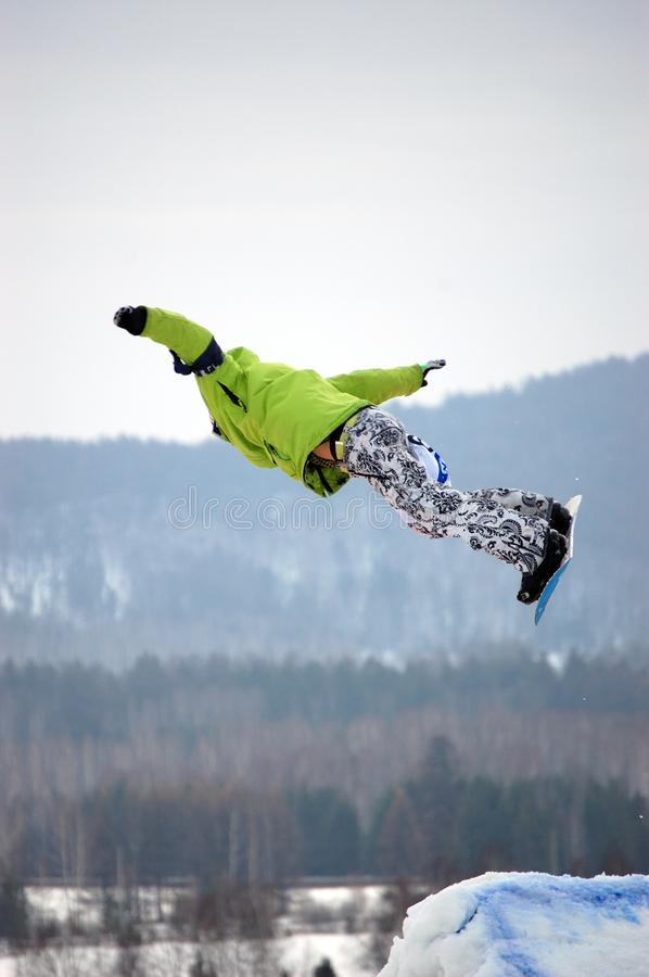 Download Snowboard free style stock photo. Image of ride, mountain - 4709702
