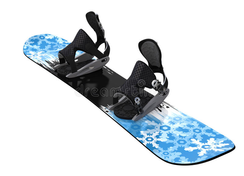 Download Snowboard Isolated On White Stock Image - Image: 31261143