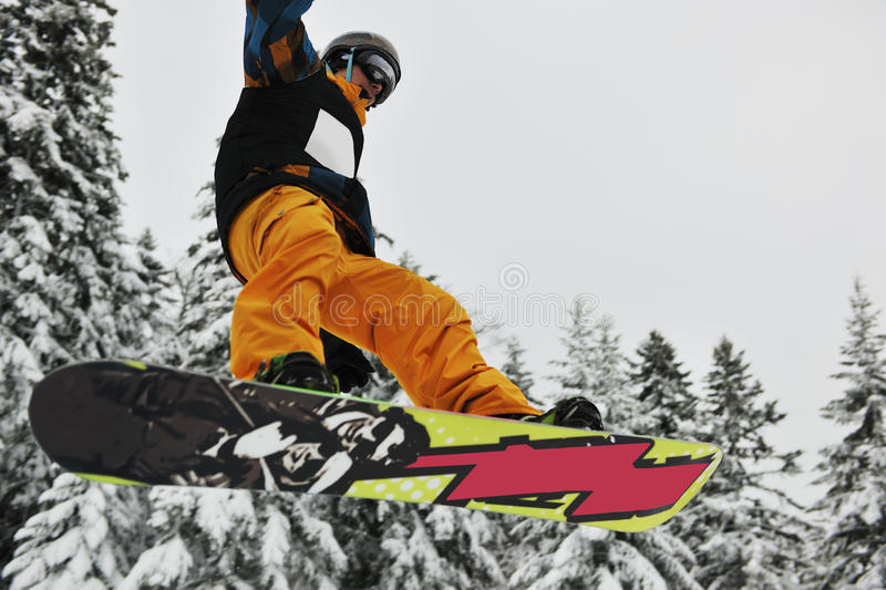 Download Snowboard jump stock image. Image of mountain, show, adventure - 13023541