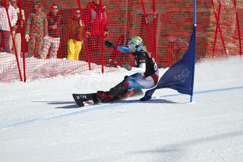 Download Snowboard Parallel Giant Slalom Editorial Photography - Image: 13415397
