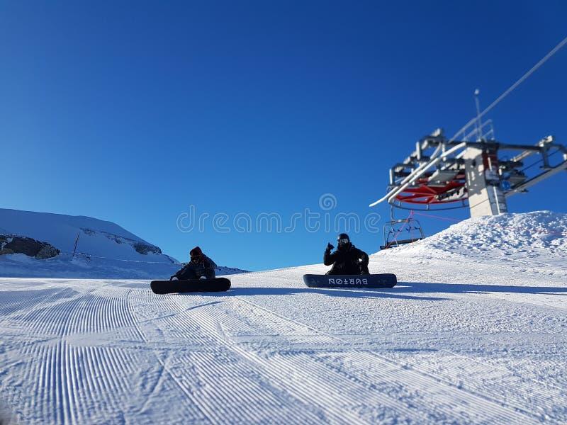 Snowboard stock photo