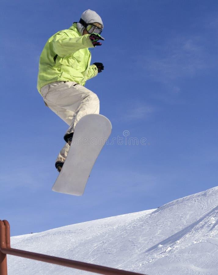 Snowboard3 imagen de archivo libre de regalías